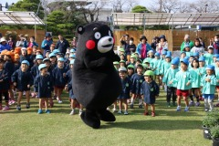 Kumamon at Mum Fest